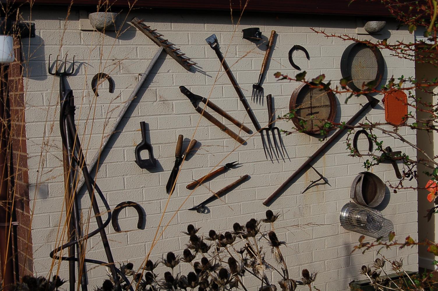 Old Garden Tools greenbenchramblings